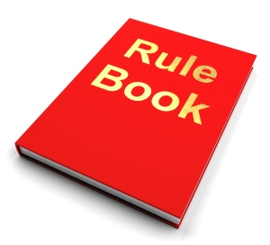 Bow before the awesome might of the Rule Book