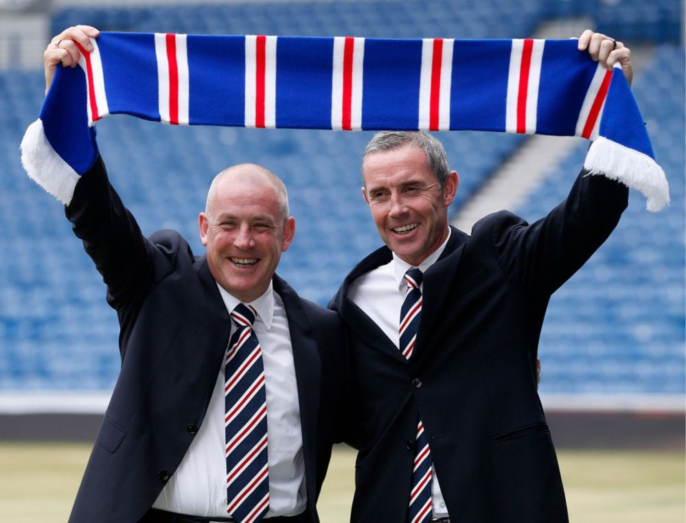 Dave King (not pictured)