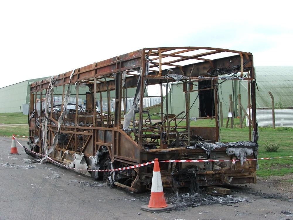 TT 155 burnt out Ben Morroll 050806 mc