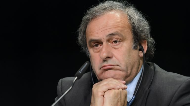 Michel Platini was delighted to listen to his CD of Neil Doncaster media interviews.