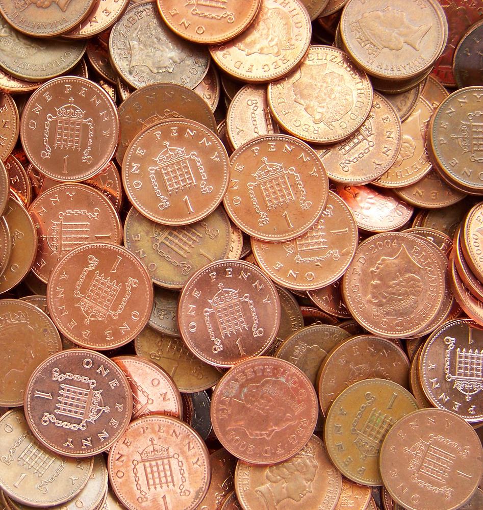 2285687-sterling-pennies