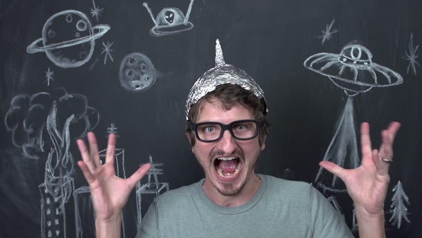 Tin Foil Hat Man
